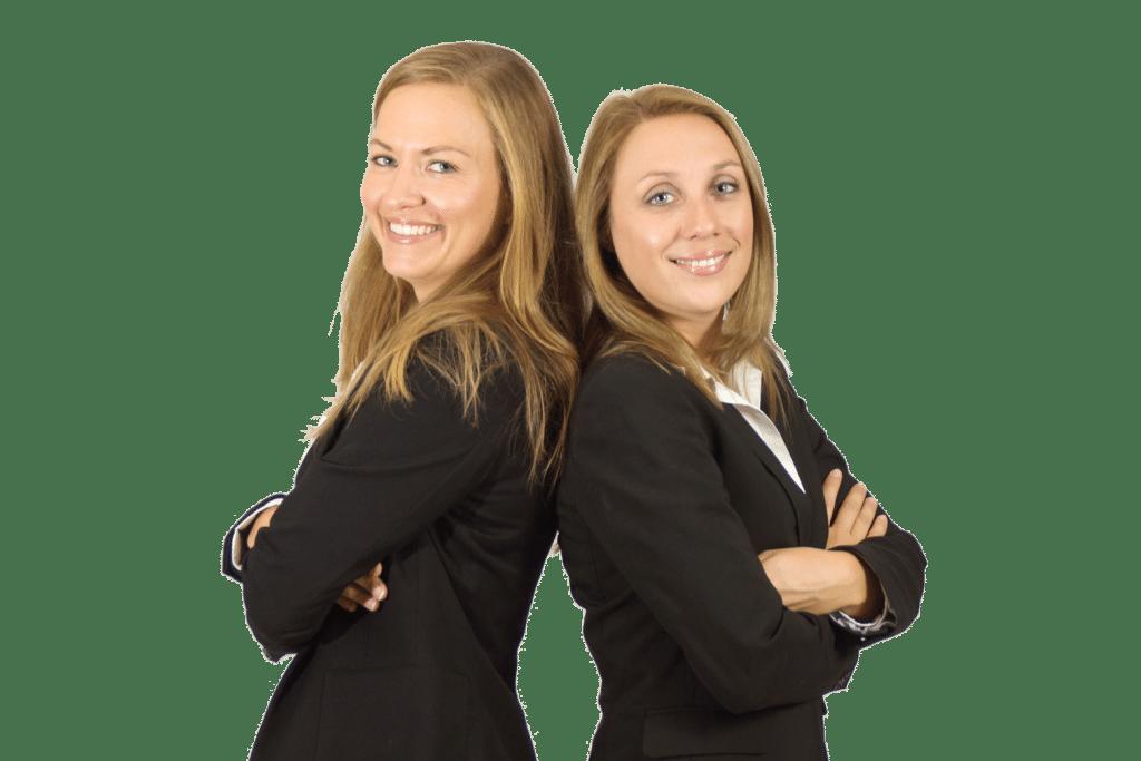 Iris Vajda und Christine Feder